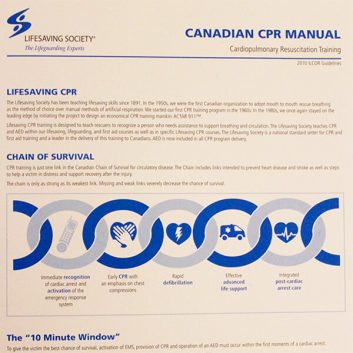 CPR Training Manual